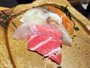 Teppei sashimi