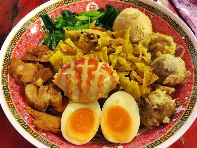 Bangkok big bowl noodles