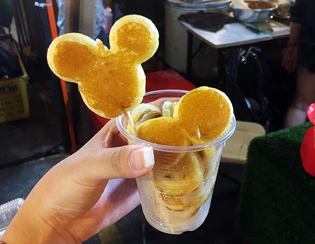 Bangkok mickey pancakes