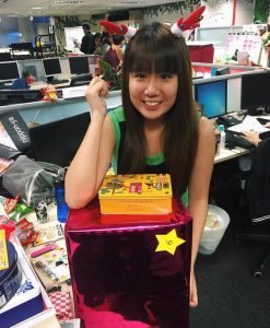 Christmas party lucky draw