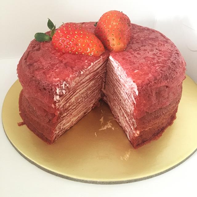 Hasu Confections crepe cake