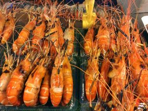 Bangkok street seafood