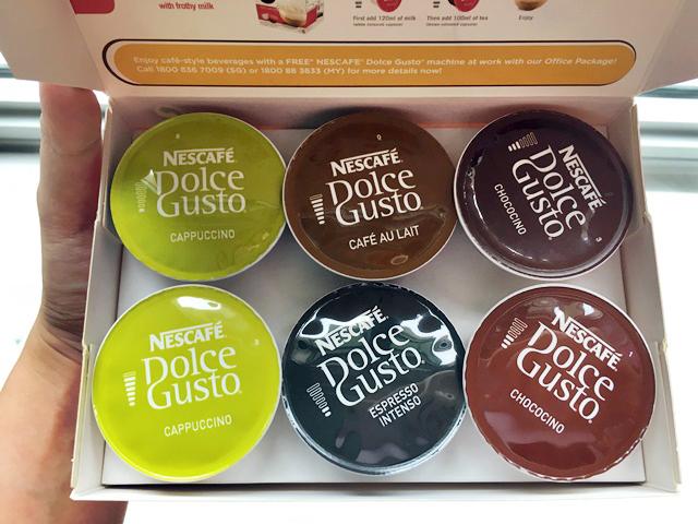 Nescafe Dolce Gusto capsules