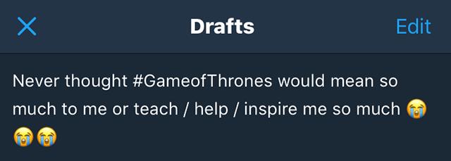 game of thrones inspiring