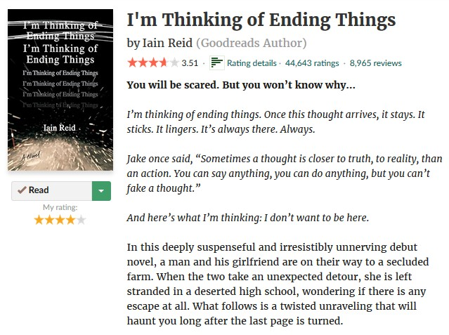 i'm thinking of ending things synopsis